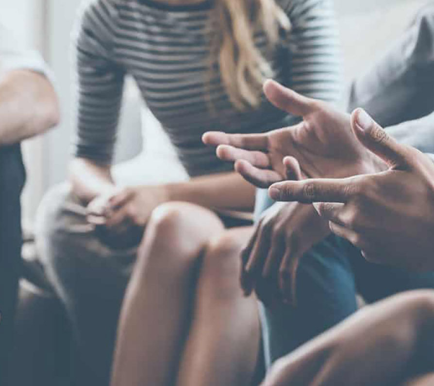 inpatient addiction counselling session
