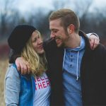 young couple happy with their decision to call an interventionist